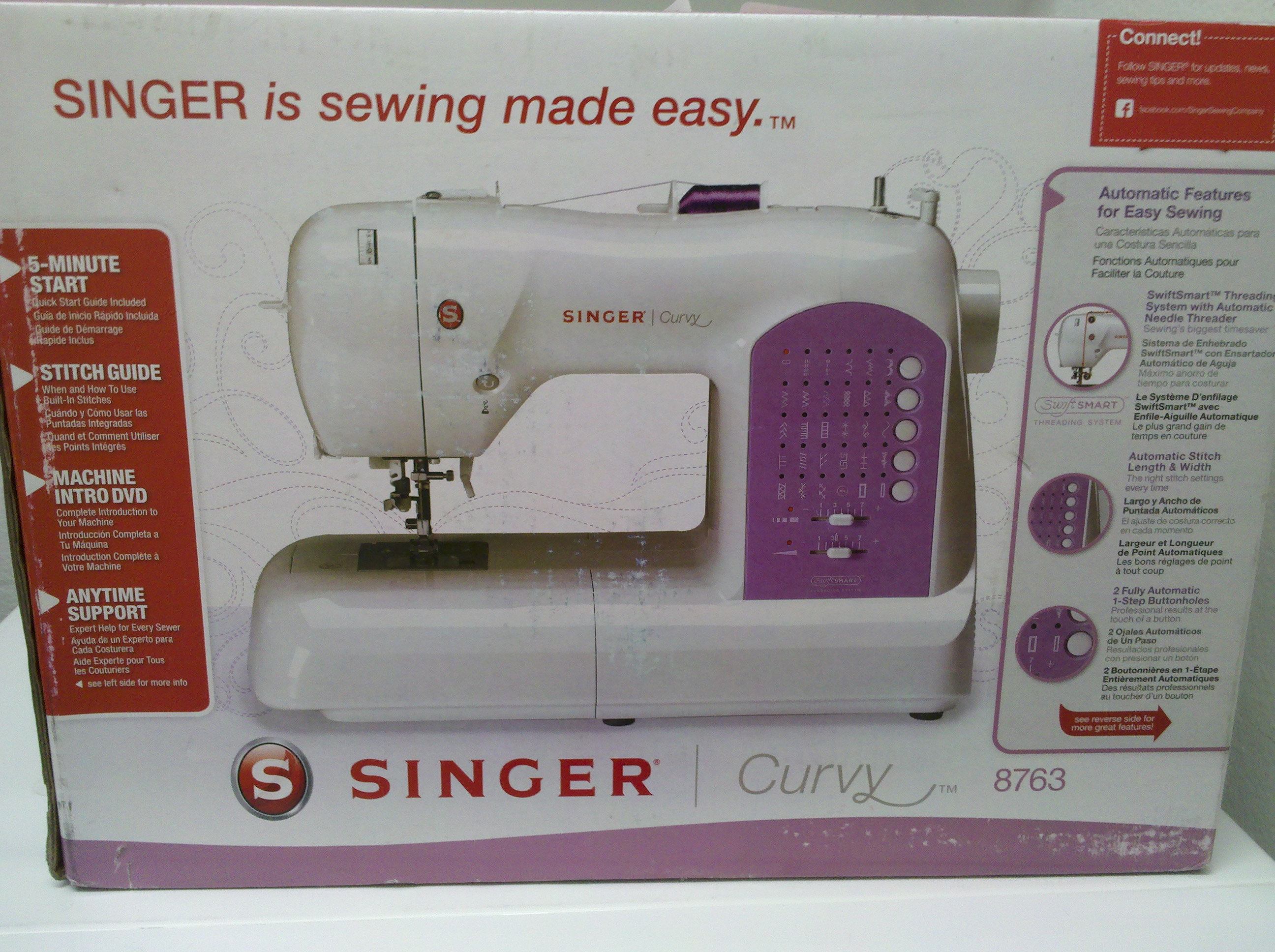 This ... & Singer 8763 Curvy Sewing Machine purchase | Our Carey Family ... Aboutintivar.Com